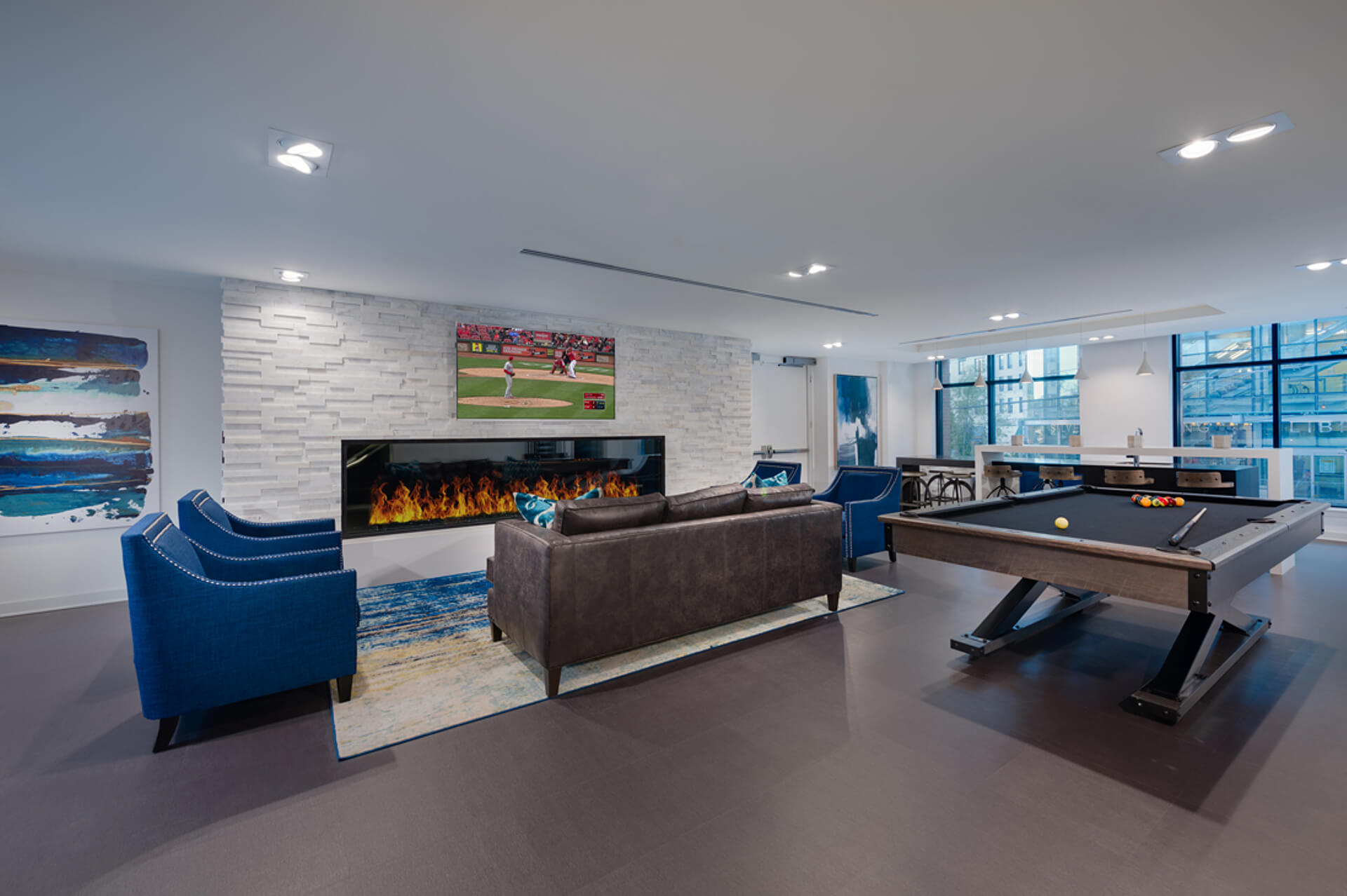 Fancy a game of pool? Try the resident lounge
