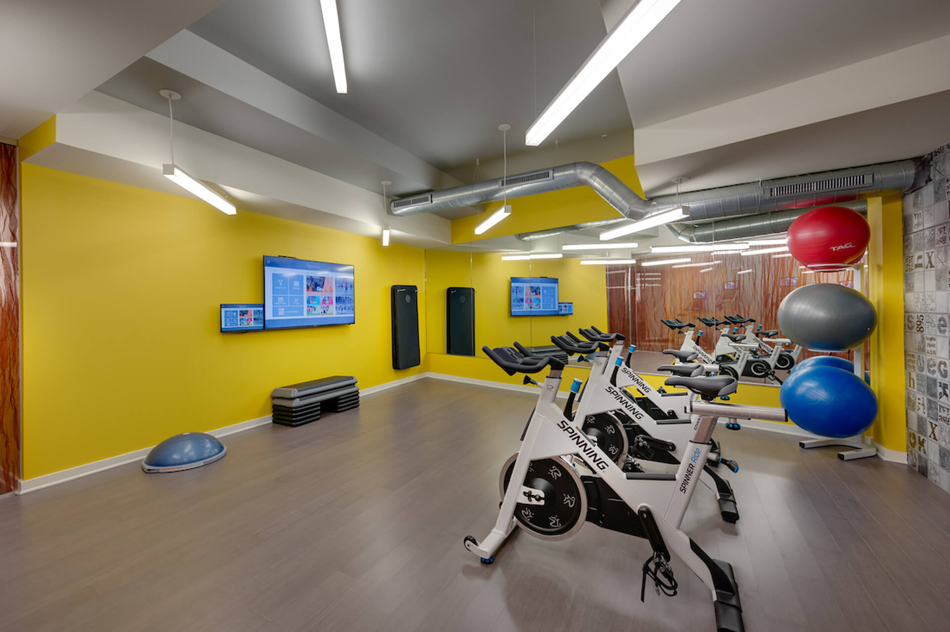 Get your daily exercise with our on-site gym