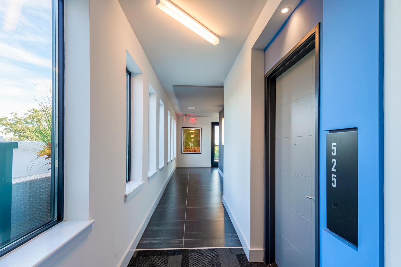 Airy hallways to your sanctuary