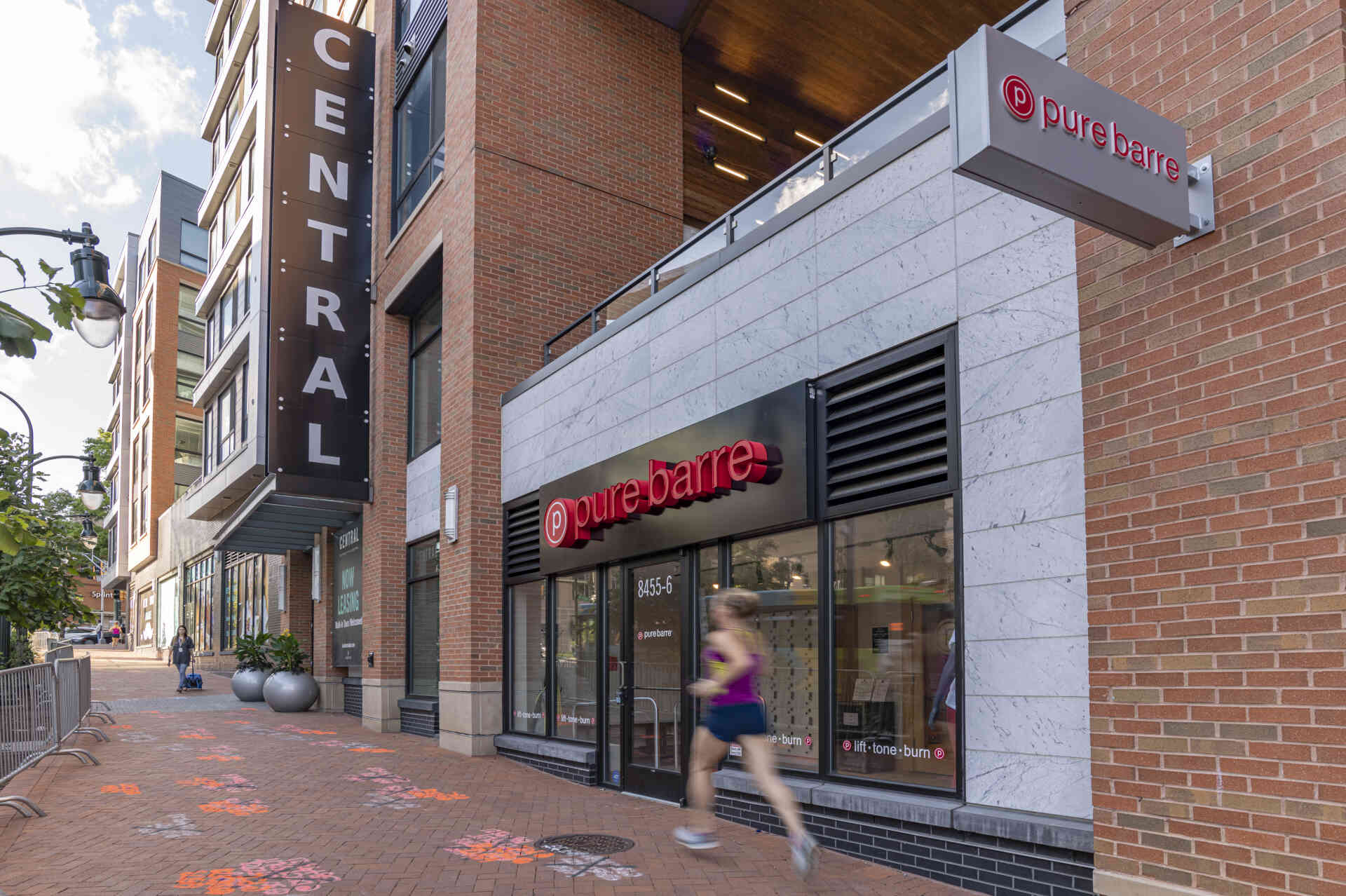 Pure Barre Exit